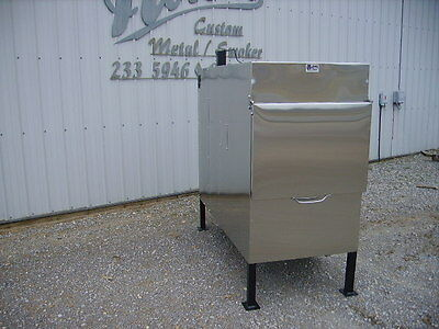 New Insulated Commercial BBQ Rotisserie Smoker Grill (Compared To Ole Hickory