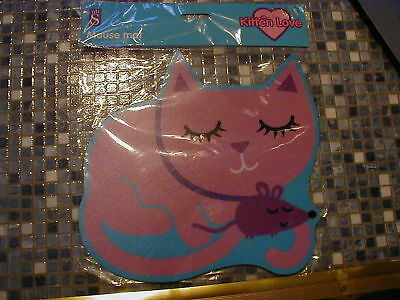 Cat & Mouse Mousemat Wh Smiths Brand New