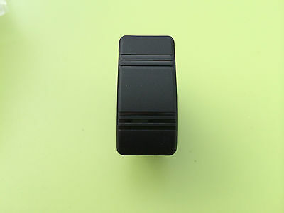Carling Contura Iii Black  Rocker Switch 12V 20A 2 Pin Spst On - Off