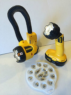 DeWALT DW908 DW919 DC509 FLASHLIGHT BULB REPLACES DW9083 LOT OF 4 BULBS