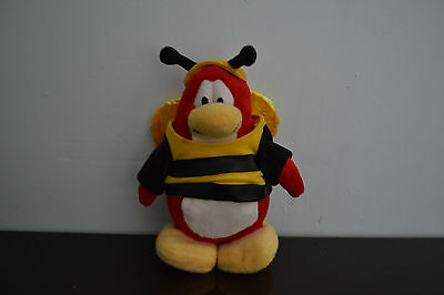 Disney Club Penguin Bumble Bee Penguin Plush Toy