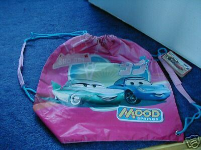 Disney Store Cars Mood Springs Drawstring Bag - NEW!!