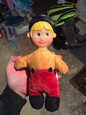 RARE Vintage Walt Disney Tom from Babes In Toyland Doll Made By Gund NY Toy
