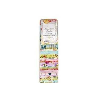 Quilting Fabric Jelly Roll Wilmington Prints Rainbow Seeds X 24 Strips