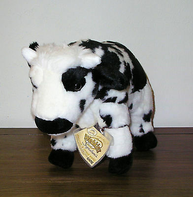 New Webkinz Signature Normande Cow With Sealed Code Tag