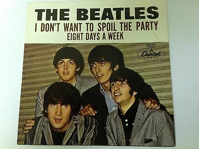 Rare Beatles 45 NM Eight Days A Week + NM picture sleeve
