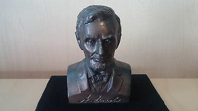 Vintage Abraham Lincoln Bust BANK First Federal Savings and Loan SEATTLE WA