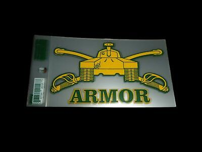 U.s Military Army Armored Window Decal Bumper Sticker  U.s Armor