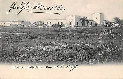 GROOTFONTEIN, NAMIBIA - GERMAN SOUTH WEST AFRICA ~ STATION OVERVIEW ~ used 1907