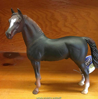 Breyer Horse Collectables New Corral Pals Liver Chestnut Morgan Stallion