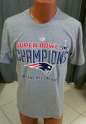 9e83a2d34 NEW ENGLAND PATRIOTS Nike T-Shirt M Medium NFL Conference Champions ...