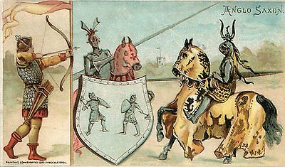 """""""Anglo Saxon"""" Sports & Pastimes of Nations Arbuckle Coffee Trade Card #48"""