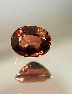 Natural earth-mined pink  tourmaline...quality gem....1.12 Carat