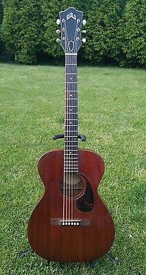 Rare Vintage 1965 Guild M-20 Acoustic Guitar Made in NJ