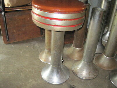 Soda Fountain/Cafe Cast Iron Stool
