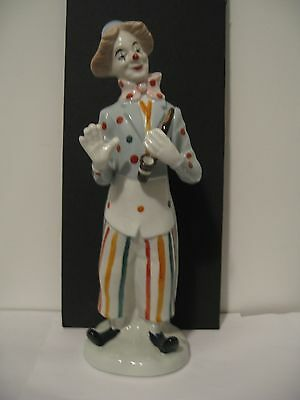 "Circus Clown Figurine/Statue (11.5"")"