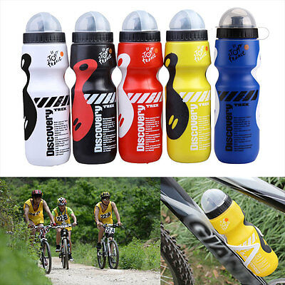 Outdoor Bike Bicycle Cycling 650ML Sports Drink Jug Water Bottle Portable