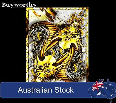 Dragon Series Playing Cards GOLD Edition Poker Magic Deck ~ Japanese Artwork New