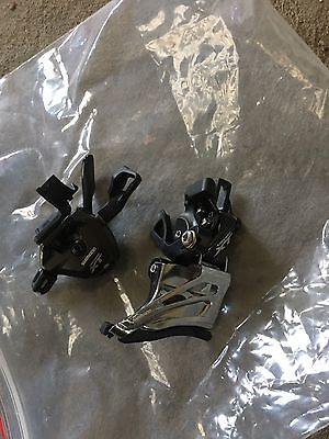 Shimano XT Front Derailleur Direct Mount And Shifter 2x11