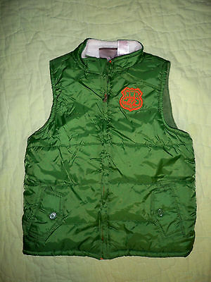 Boys*Boyz Wear by Nanette*Green Fleece Lined Puffy Vest*SIZE 6
