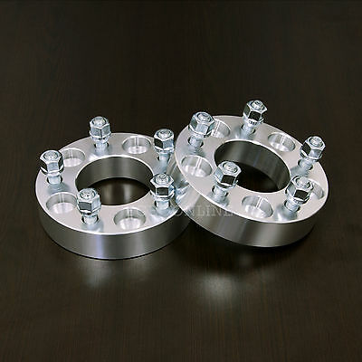 "2pc 25mm (1"") Thick - Wheel Adapters Spacers - 5x 110 to 5x 100 - 12x1.5 Studs"