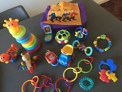 Bulk Baby Toddler Toys From Fisher Price,bright Stars worth Over $100