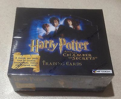 """2006 Artbox """"Harry Potter & the Chamber of Secrets"""" - Factory Sealed Hobby Box"""