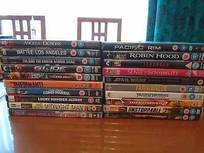 DVD Collection - Job Lot of 20 assorted DVDs - Action, Thrillers, Comedies