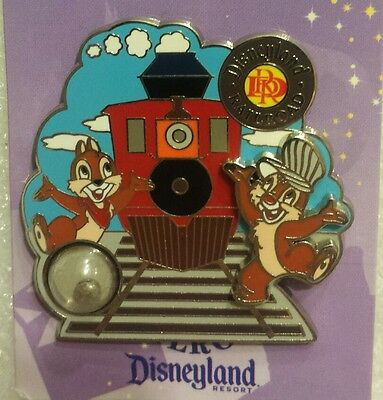 Dlr- Piece Of Disney History 1 2009 - Disneyland Railroad Sold Out Le 1000 Pin