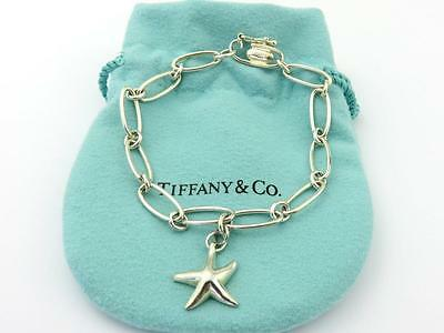 Authentic TIFFANY & CO Sterling Silver Elsa Peretti Starfish Bracelet