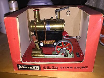 Malins Engineers Mamod SE.2A ' Very Rare To Find One Like This With Original Box