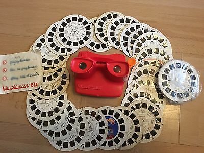 Vintage Tyco Viewmaster With Slides