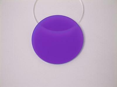 Acrylic Perspex Disk Circle Purple 3mm Thick 120mm to 500mm Diameter