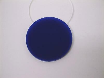Acrylic Perspex Disk Circle Blue 3mm Thick 120mm to 500mm Diameter