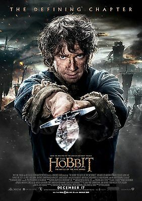 The Hobbit - A4 Glossy Poster -TV Film Movie Free Shipping #622