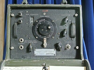Signal Corps BC-221 AH Frequency Meter