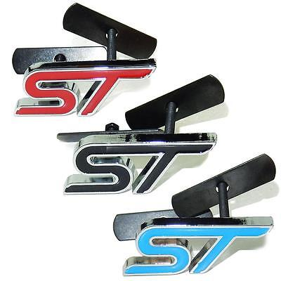 Ford Fiesta ST150 Grille Emblem Badge 4 Colours Red Black Blue White UK Seller