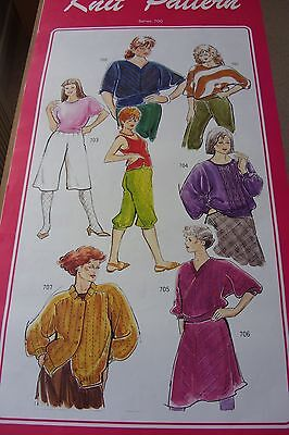 Knitmaster Knit Contour Patterns Series 700 - good condition