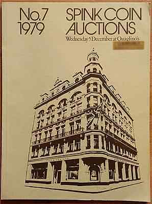 LAC Spink. Coin Auction no. 7. London, 5 December 1979. The Isle of Man: Coins..