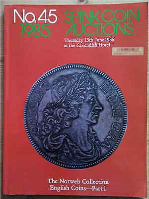 LAC Spink Coin Auction no. 45 London, 13 June 1985. The Norweb Collection part 1