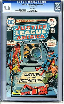 Justice League of America  #118  CGC  9.6  NM+   white  pages