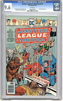 Justice League of America  #131  CGC  9.6  NM+   white  pages