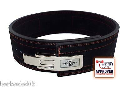 13mm Powerlifting Weightlifting Lever Belt - Fully IPF Approved, like Inzer