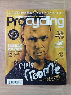 Procycling 231 July 2017 with Tour de France guide. Chris Frome, Peter Sagan, et