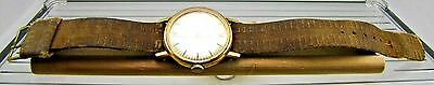 Vintage WESTCLOX Precision Jeweled Men's Wristwatch with Band - Parts Watch