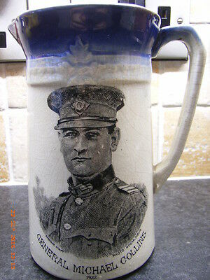Very Rare 1922 Michael Collins Commemorative Jug/irish Republican/ira/sein Fein