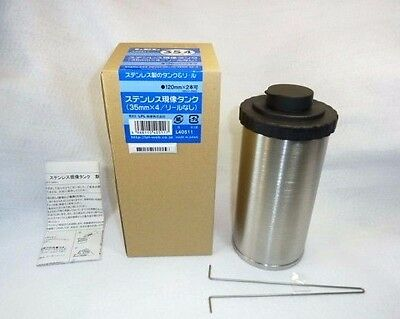 """""""NEW!!"""" LPL Stainless Film Developing Tank for 4x 35mm/ 2x 120 reels From JAPAN"""