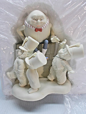 """Snowbabies 2004 """"High Five For Humpty Dumpty"""" Guest Collection Retired  c"""