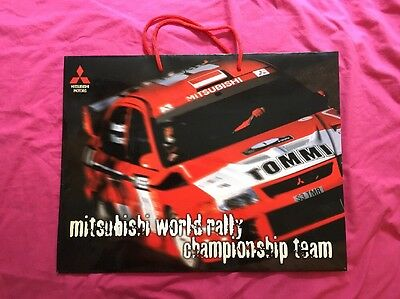 Tommi Mäkinen MAKINEN WRC WORLD RALLY CHAMPIONSHIP BAG MITSUBISHI TEAM