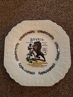 Lord Nelson Pottery Bovril collectible plate.  Great condition.